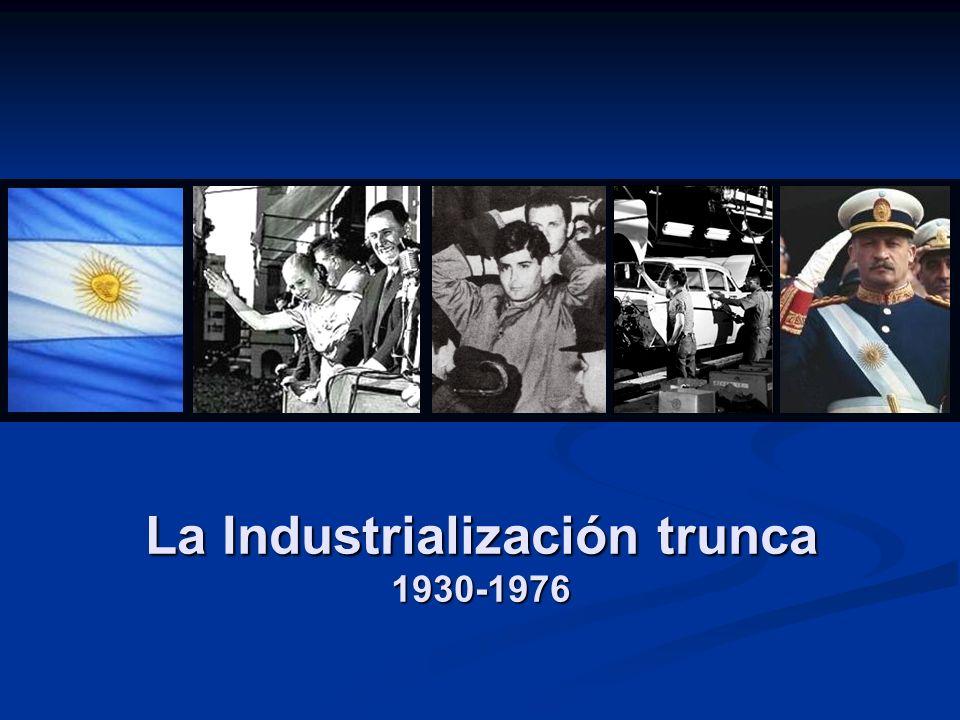 Promoción de la actividad industrial por parte del Estado.