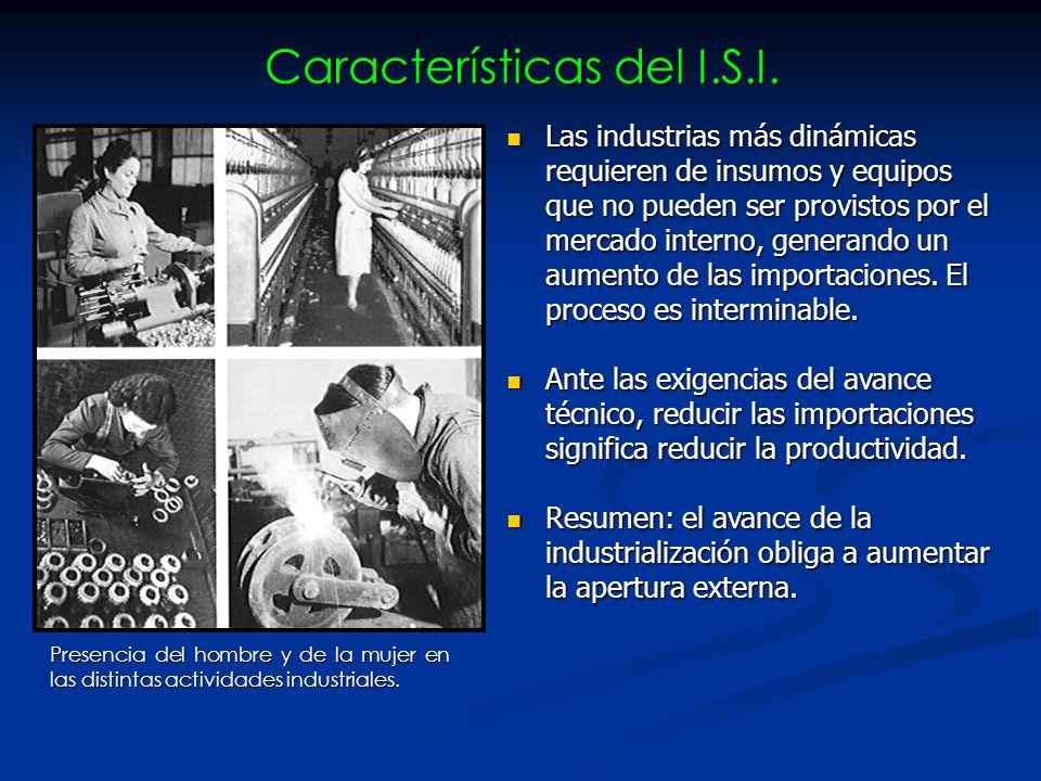 Características del I.S.I.