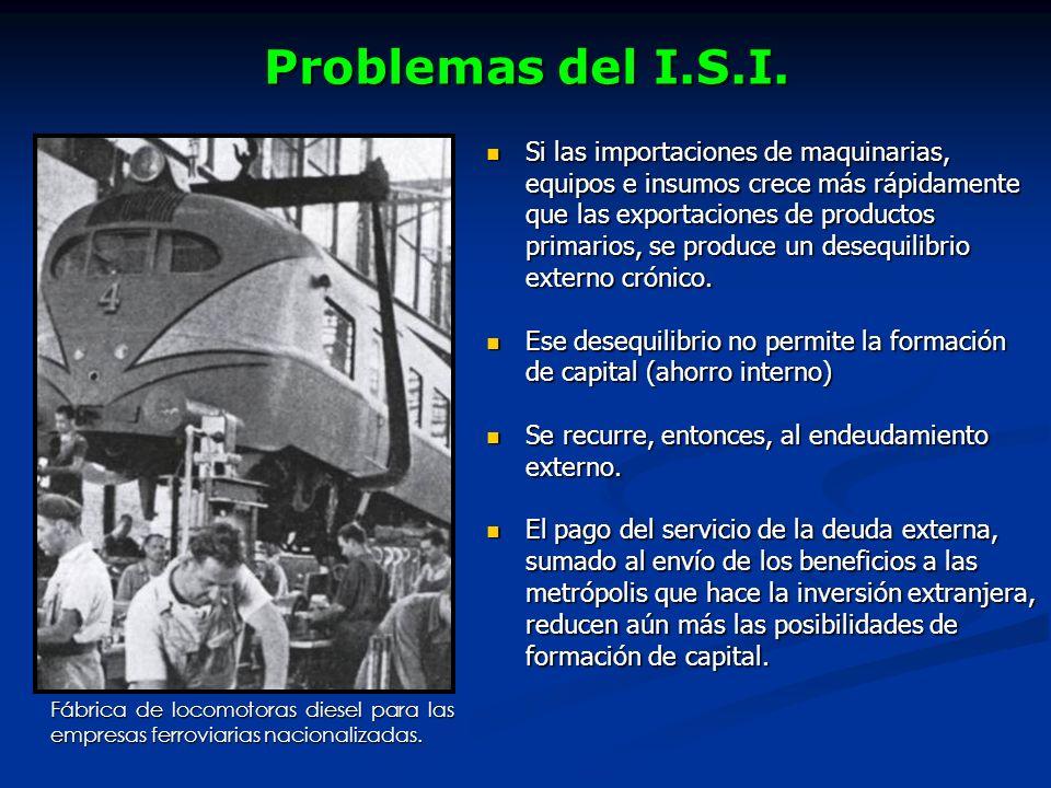 Problemas del I.S.I.