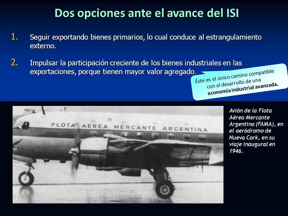Dos opciones ante el avance del ISI 1.