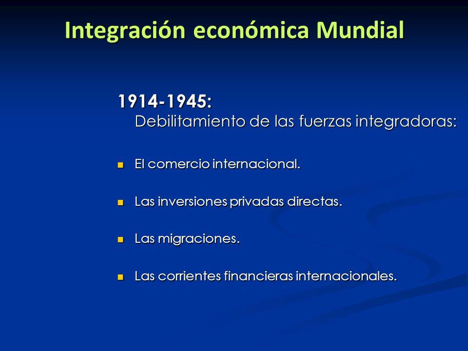 PERÍODO DORADO (1945-1975) Expansión sin precedentes de la economía capitalista, tanto de la producción, como del comercio, las transferencias de capital y de tecnología.