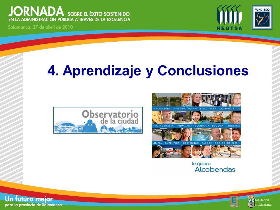 4. Aprendizaje y Conclusiones