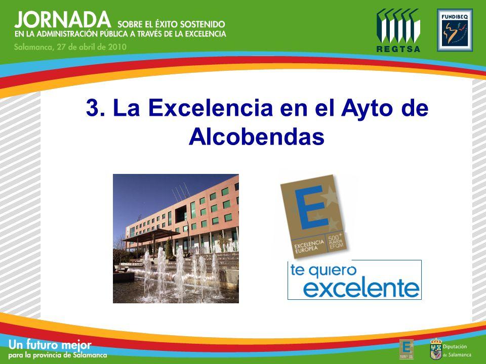 3. La Excelencia en el Ayto de Alcobendas