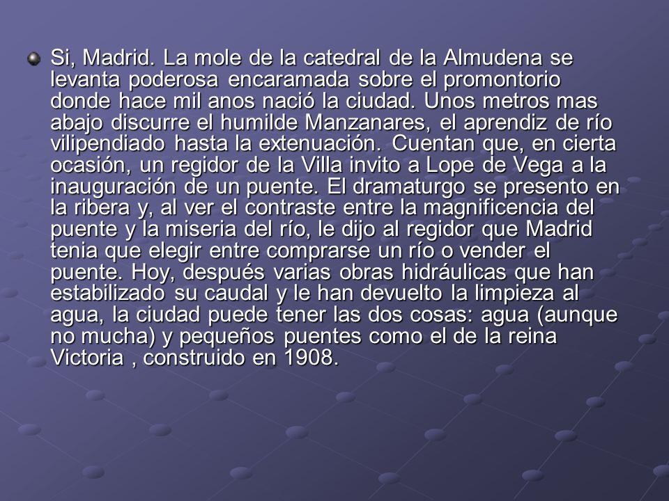 Si, Madrid.
