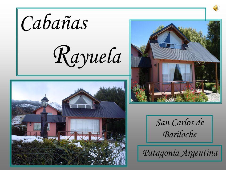 San Carlos de Bariloche Patagonia Argentina Cabañas R ayuela