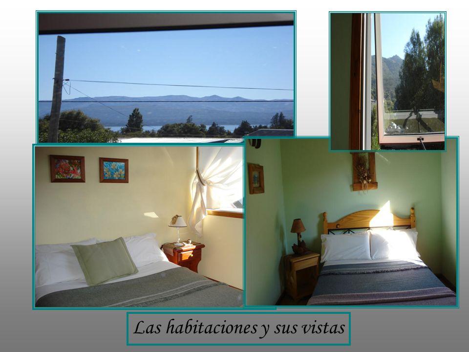 Las habitaciones y sus vistas