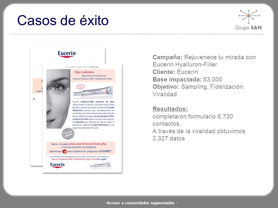 · Acceso a comunidades segmentadas · Campaña: En Mendoza. Un lugar. Un destino. Cliente: Hotel Villaggio Base impactada: Base total de 54.000 contacto