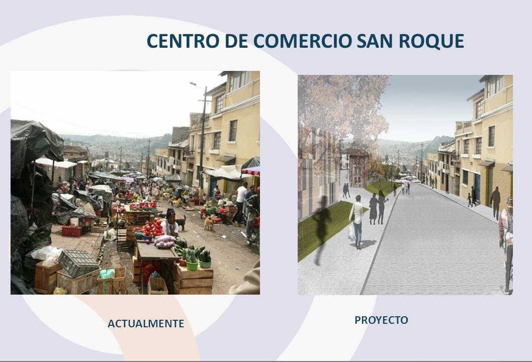 CENTRO DE COMERCIO SAN ROQUE ACTUALMENTE PROYECTO