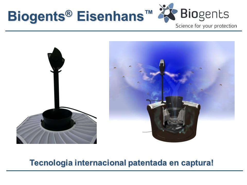 Biogents ® Eisenhans Biogents ® Eisenhans Tecnologia internacional patentada en captura!