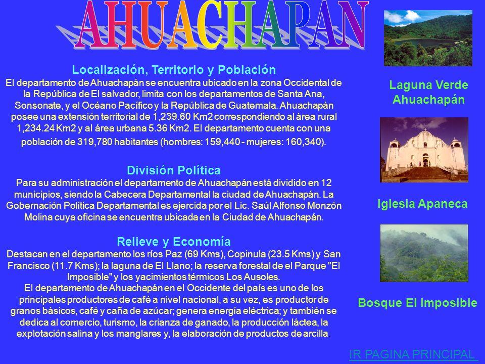 Para su administración el departamento de Santa Ana está dividido en 13 municipios, siendo su Cabecera Departamental la Ciudad de Santa Ana. La Gobern