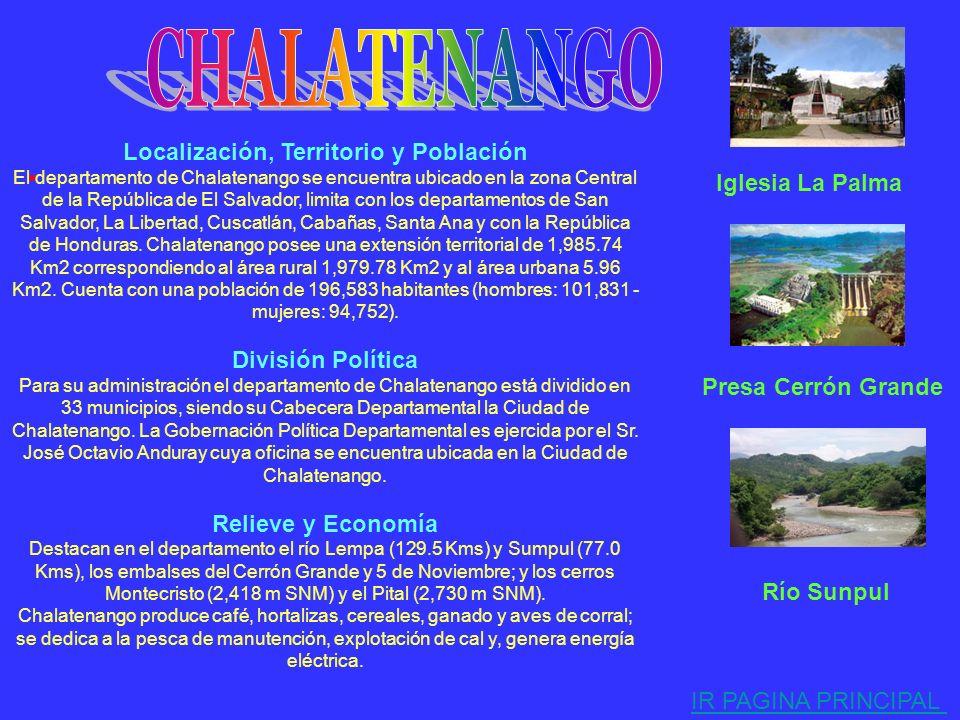 . Localización, Territorio y Población El departamento de Sonsonate se encuentra ubicado en la Zona Occidental de la República de El Salvador, limita