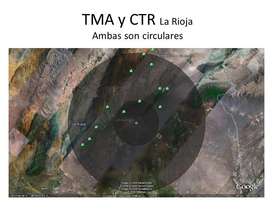 TMA y CTR La Rioja Ambas son circulares Marcelo Bozzo 2009