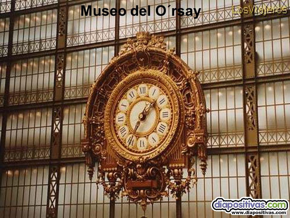 Interior del Museo O´rsay