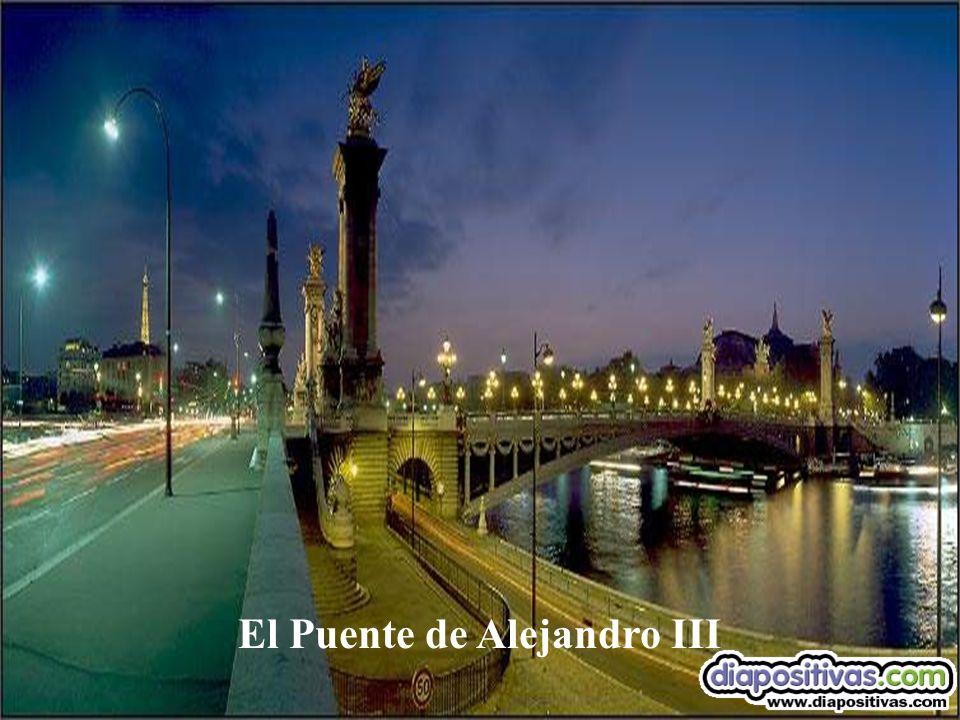 Vista del Puente de Alejandro III
