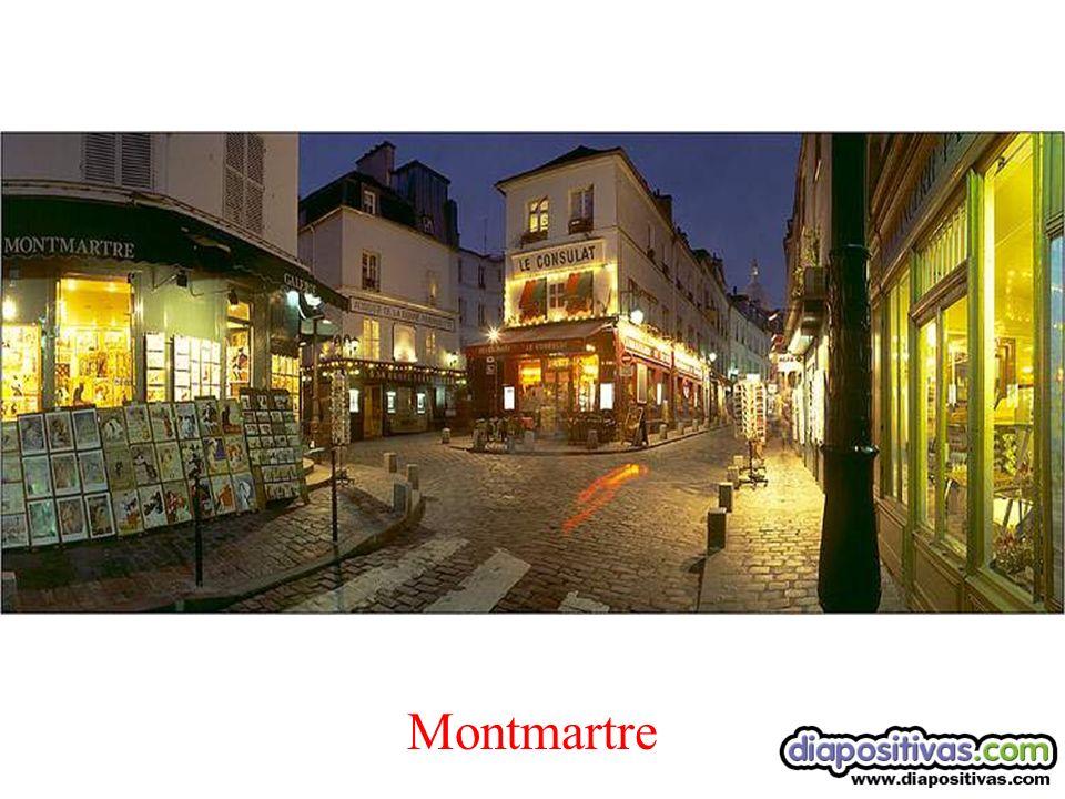 Artistas en el barrio de Montmatre