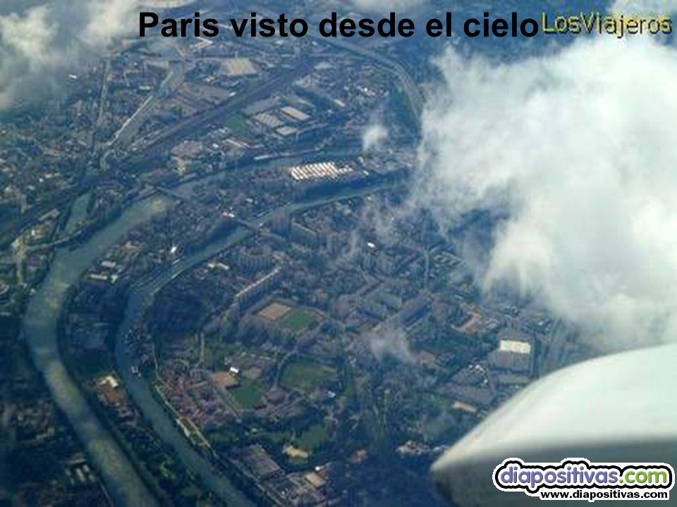 Vista aérea del sena