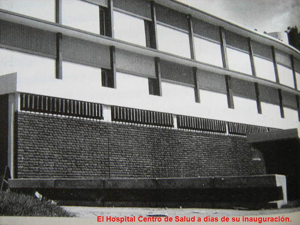 El Hospital Centro de Salud a días de su inauguración.