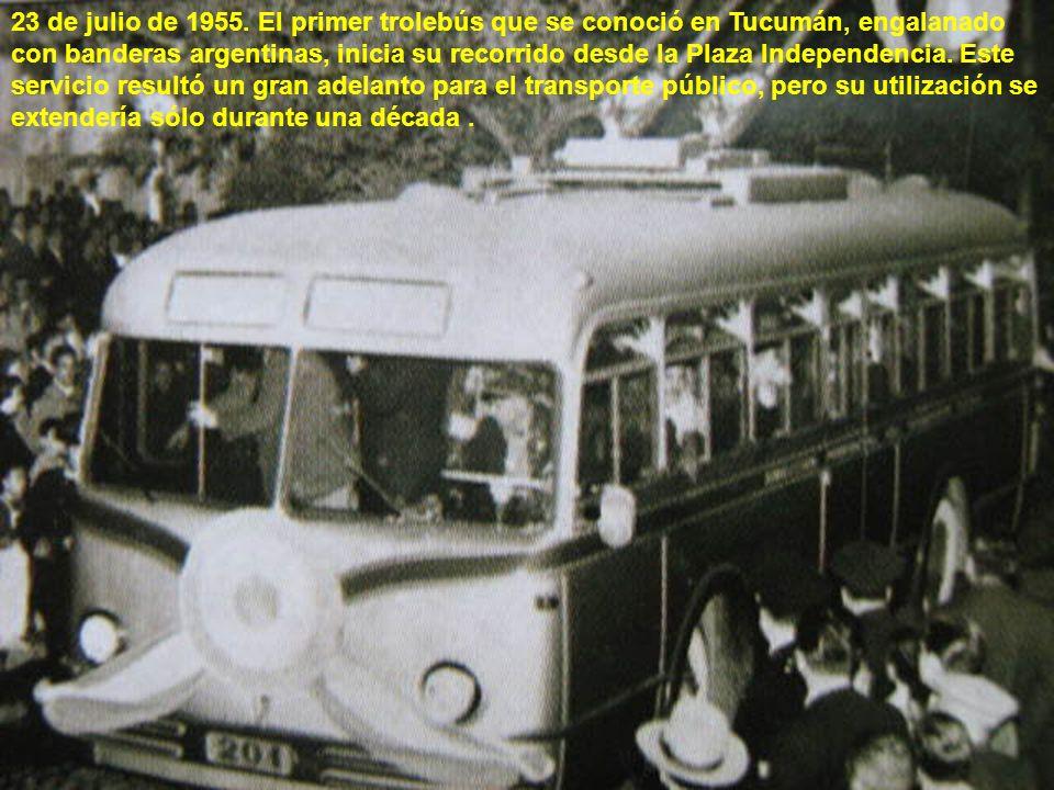 El monumental Instituto de Higiene de Avenida Mate de Luna, donde años más tarde se instalaría la Maternidad (que llegaría a ser la mas importante de Sudamérica en cuanto a número de nacimientos).