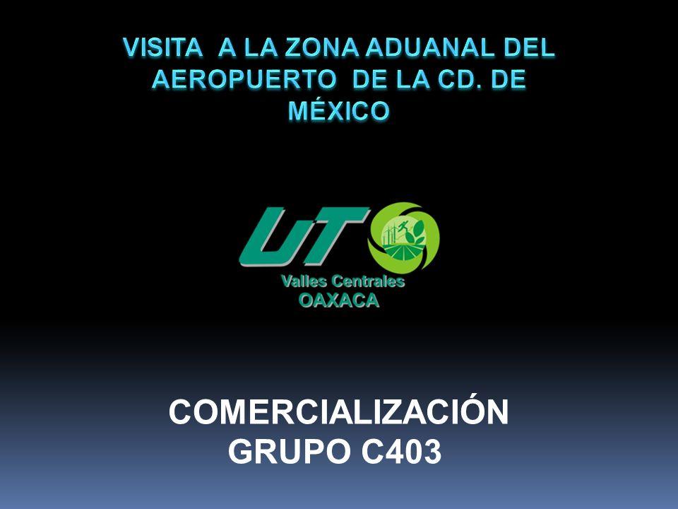 Grupo C403 presente en la Aduana del Aeropuerto Internacional de la Ciudad de México, 27/11/10.