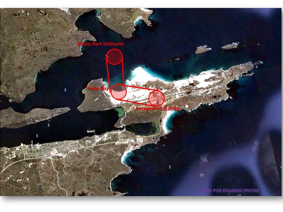Bahia Port Williams Yorke Bay Aeropuerto Stanley