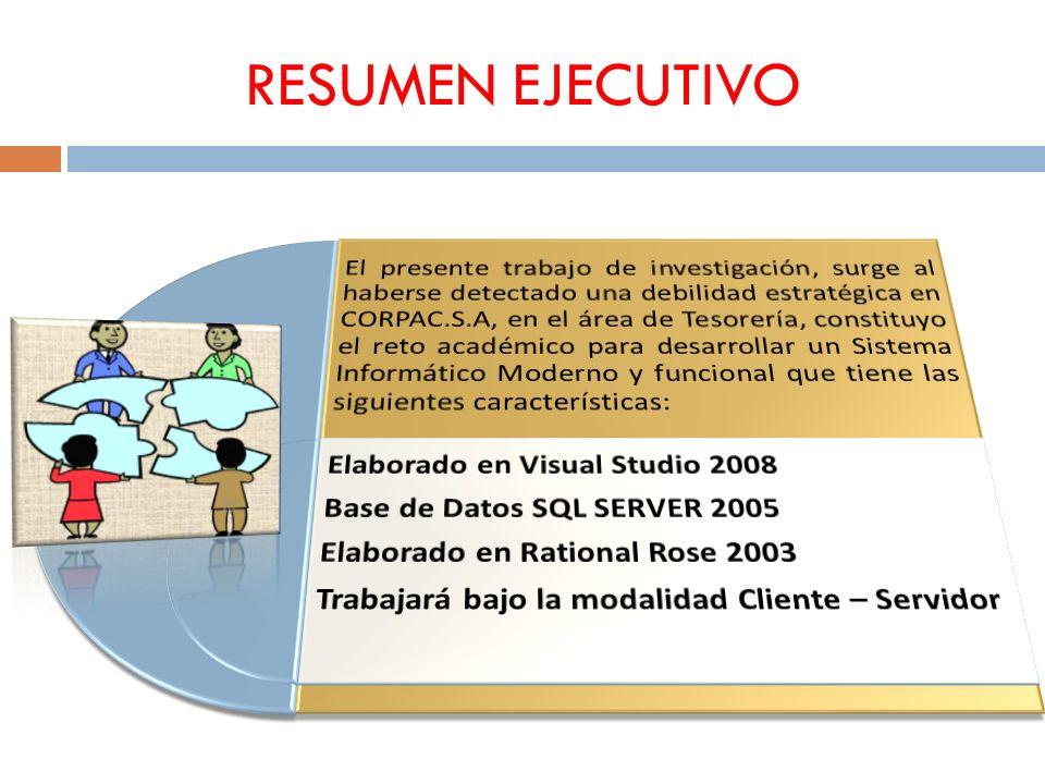 PROPUESTA DEL PROYECTO REGISTRAR SALDO DE CAJA Y BANCOS