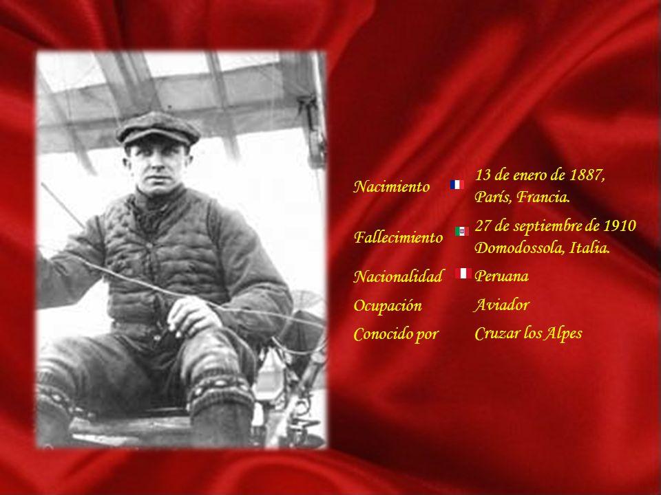 Jorge Geo Chávez Dijo: Coraje es tener miedo y sin embargo hacerlo Al morir: