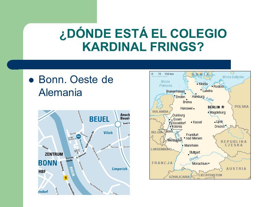 Kardinal Fring Gymnasium ¿QUIÉN NOS VA A VISITAR.