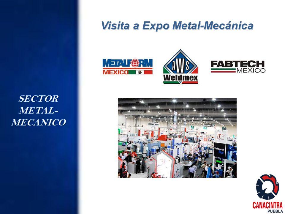 Visita a Expo Metal-Mecánica