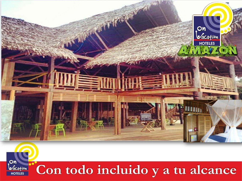 ON VACATION AMAZON Somos el único hotel con comodidades en medio de la selva Colombiana.