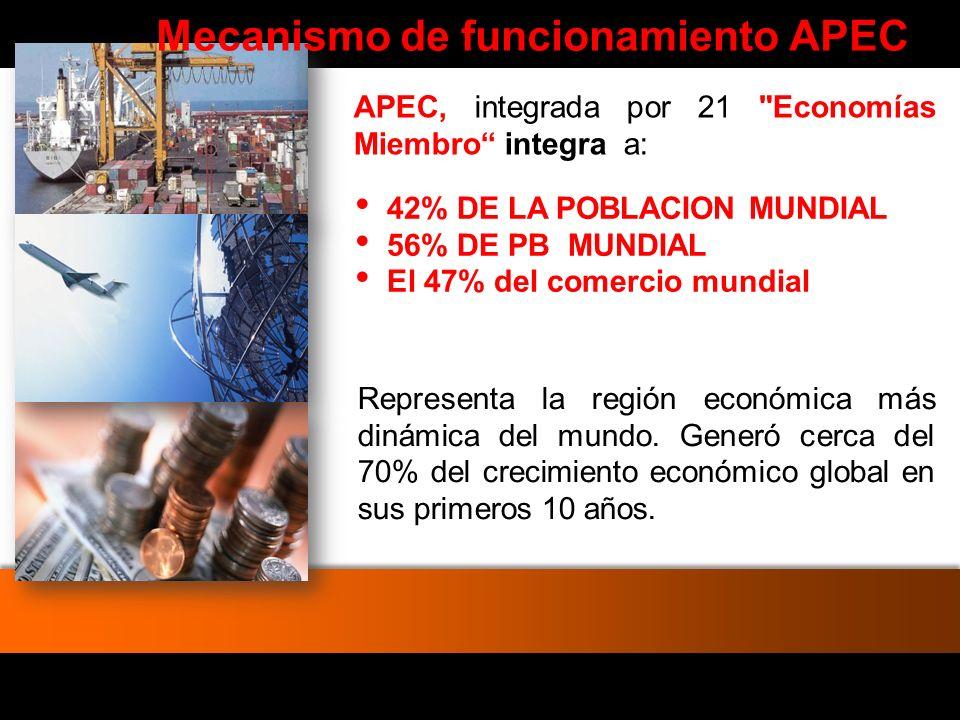 APEC PERU 2008 ¿Qué implica presidir el APEC.