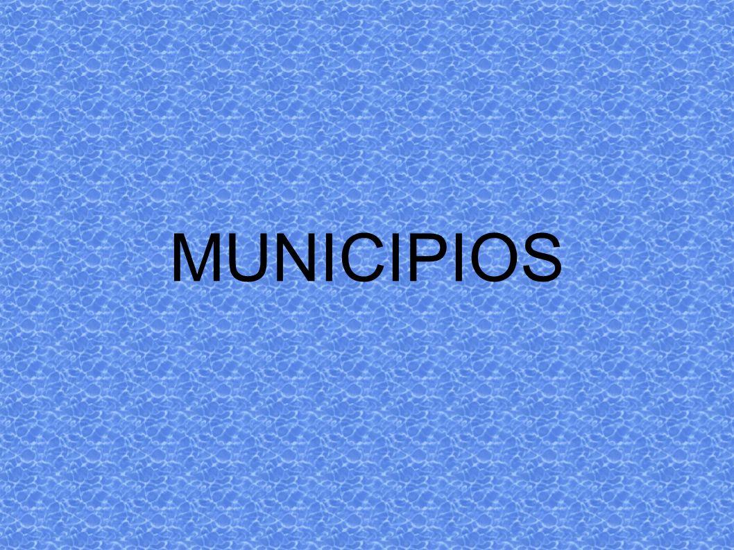 MUNICIPIOS