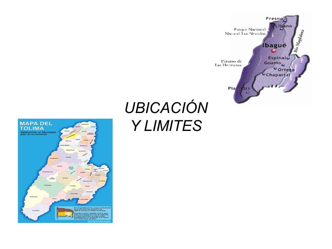 UBICACIÓN Y LIMITES