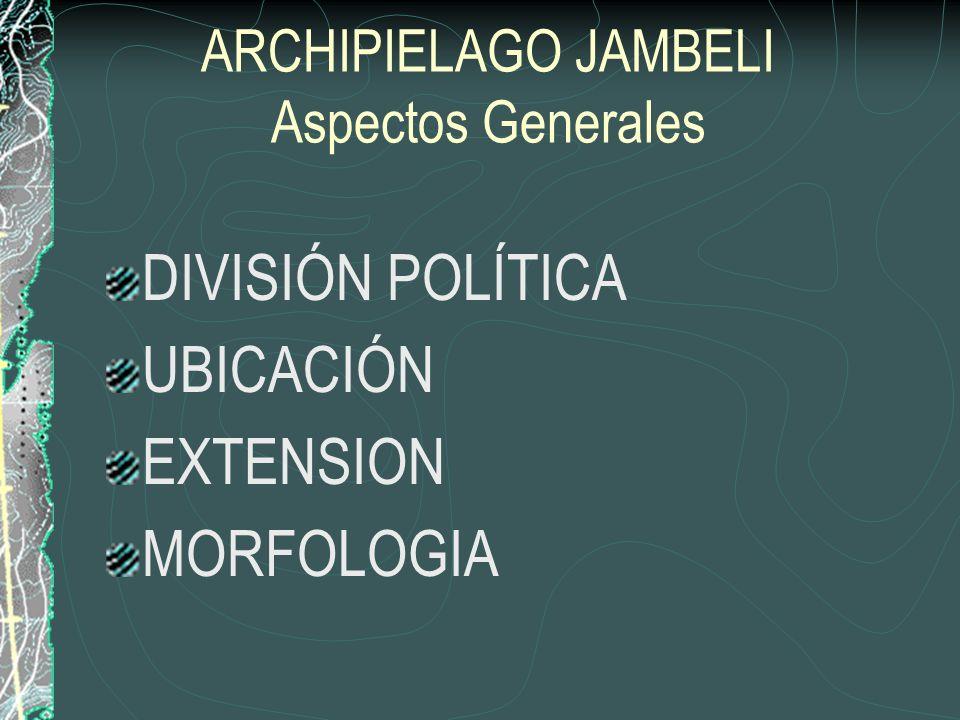 EVALUACION DEL ARCHIPIÉLAGO DE JAMBELÍ, PROVINCIA DE EL ORO, COMO OFERTA TURÍSTICA