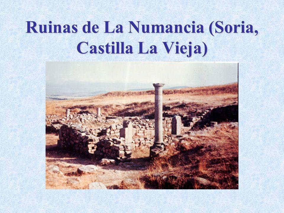 Ruinas de La Numancia (Soria, Castilla La Vieja)