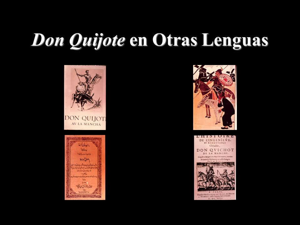 Don Quijote en Otras Lenguas