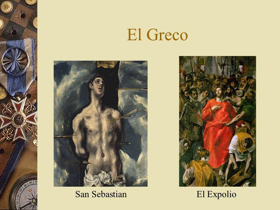 El Greco El ExpolioSan Sebastian