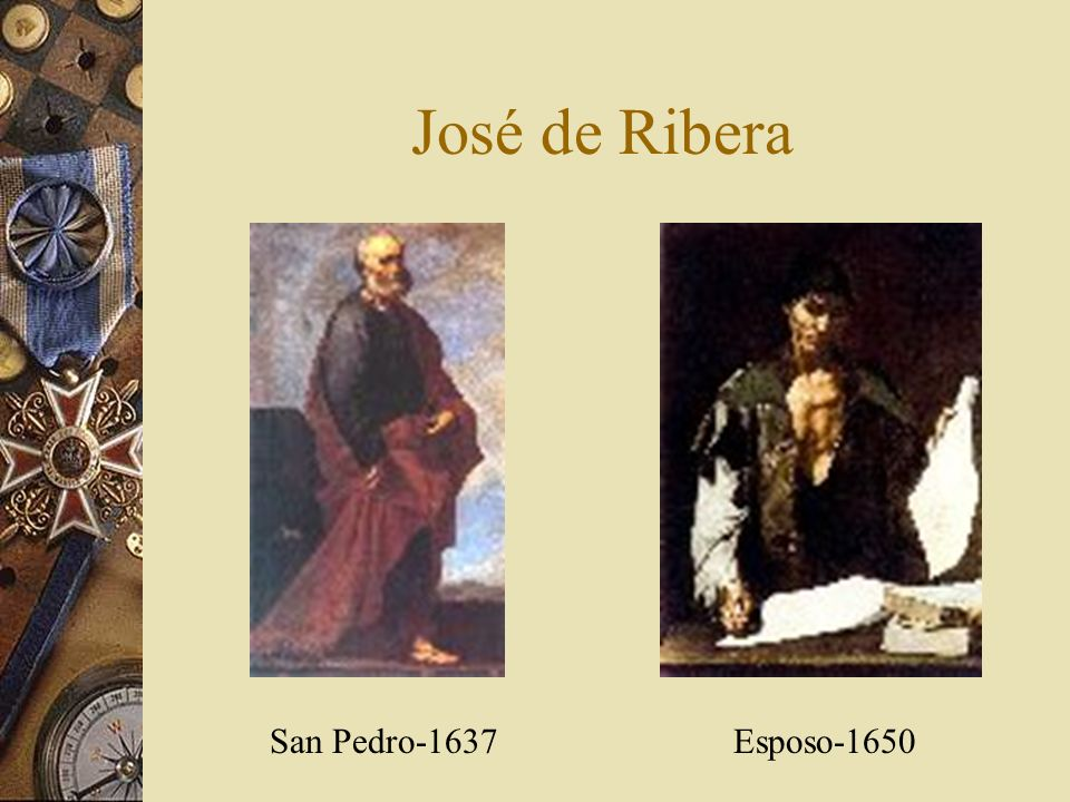 José de Ribera San Pedro-1637Esposo-1650