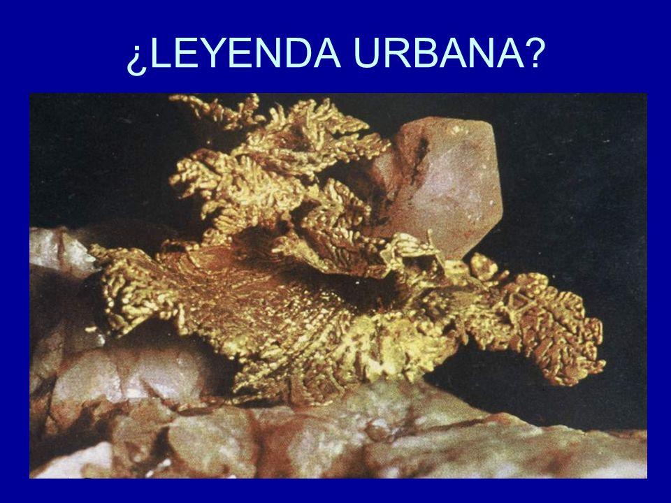 ¿LEYENDA URBANA?