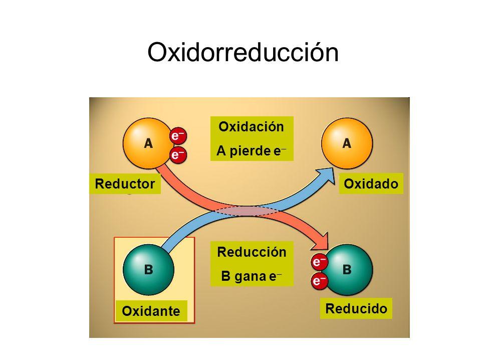Conocimientos básicos requeridos Clasificar las siguientes especies en oxidante/reductor (fuerte/débil) o de carácter redox despreciable.