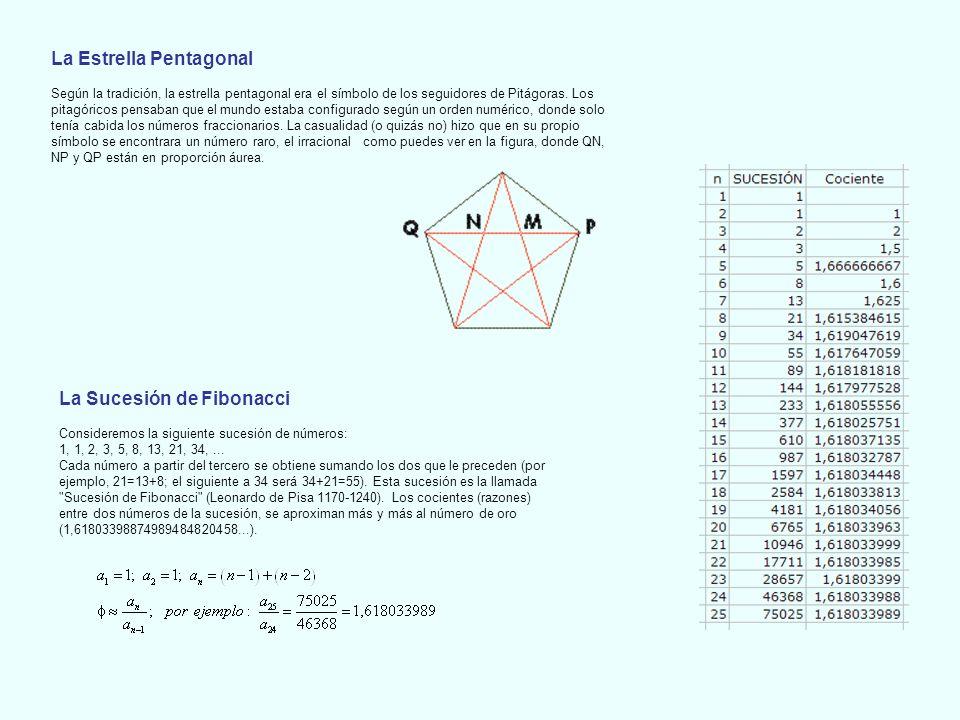 NUMERO DE ORO 1.- División de un segmento en media y extrema razón.