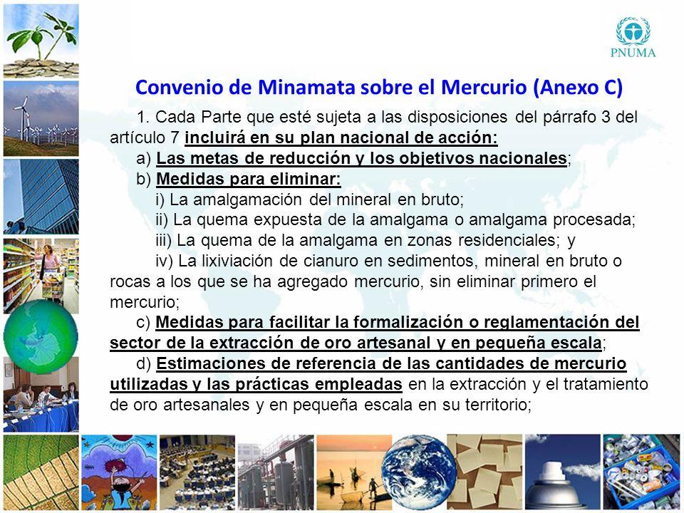3 33 e) Estrategias para promover la reducción de emisiones y liberaciones de mercurio, y la exposición a esa sustancia, en la extracción y el tratamiento de oro artesanales y en pequeña escala, incluidos métodos sin mercurio; f) Estrategias para gestionar el comercio y prevenir el desvío de mercurio y compuestos de mercurio procedentes de fuentes extranjeras y nacionales para su uso en la extracción y el tratamiento de oro artesanales y en pequeña escala; g) Estrategias para atraer la participación de los grupos de interés en la aplicación y el perfeccionamiento permanente del plan de acción nacional; h) Una estrategia de salud pública sobre la exposición al mercurio de los mineros artesanales y que extraen oro en pequeña escala y sus comunidades.