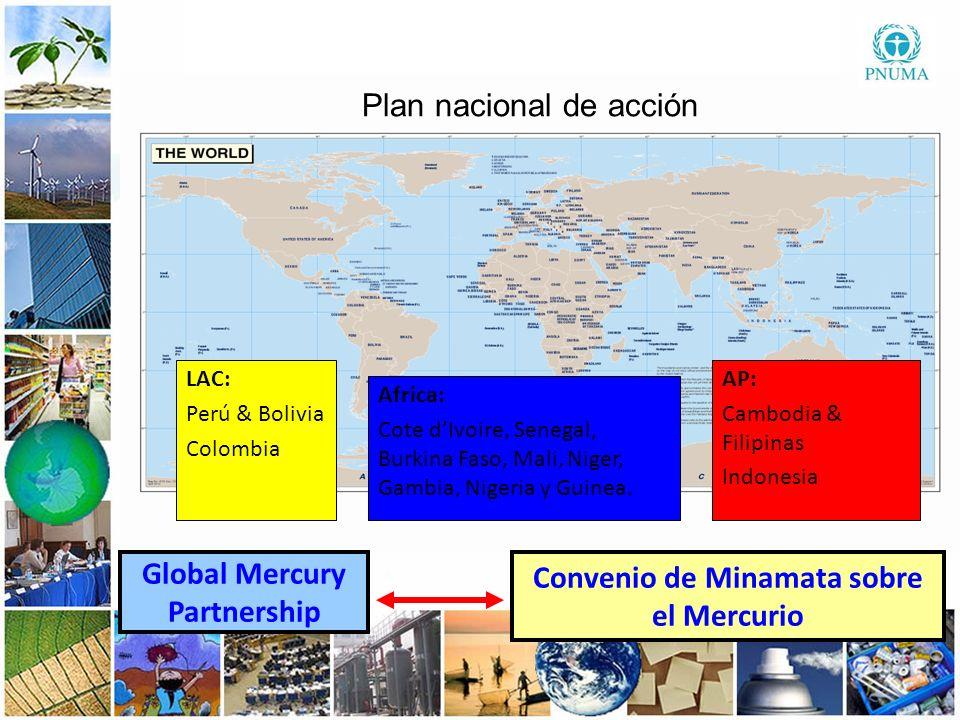 6 66 Global Mercury Partnership Convenio de Minamata sobre el Mercurio Plan nacional de acción: un viaje….