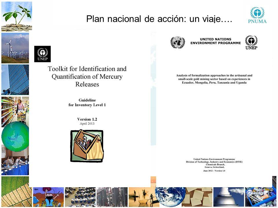 9 99 Global Mercury Partnership Convenio de Minamata sobre el Mercurio Plan nacional de acción: un viaje….