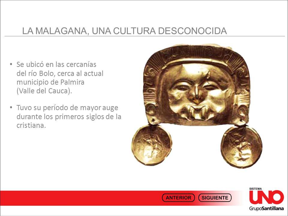 Los primeros objetos que demuestran su existencia se descubrieron entre 1992 y 1994 en la Hacienda Malagana, ubicada entre los municipios de El Bolo y San Isidro.