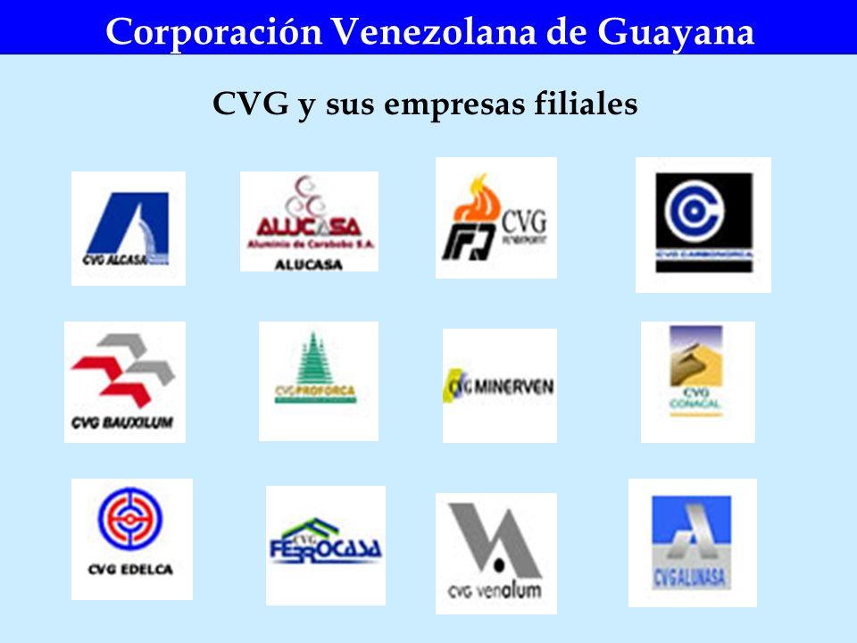 Corporación Venezolana de Guayana CVG y sus empresas filiales