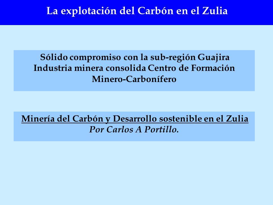 Sólido compromiso con la sub-región Guajira Industria minera consolida Centro de Formación Minero-Carbonífero Minería del Carbón y Desarrollo sostenib