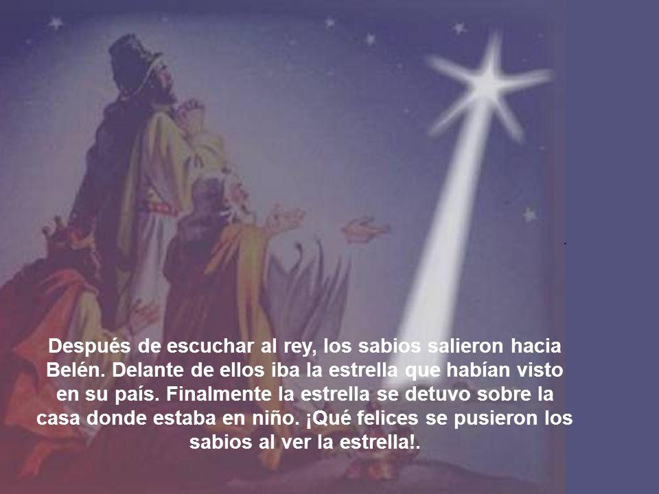 Cuando entraron en la casa, vieron al niño con María su madre, y se arrodillaron para adorarlo.