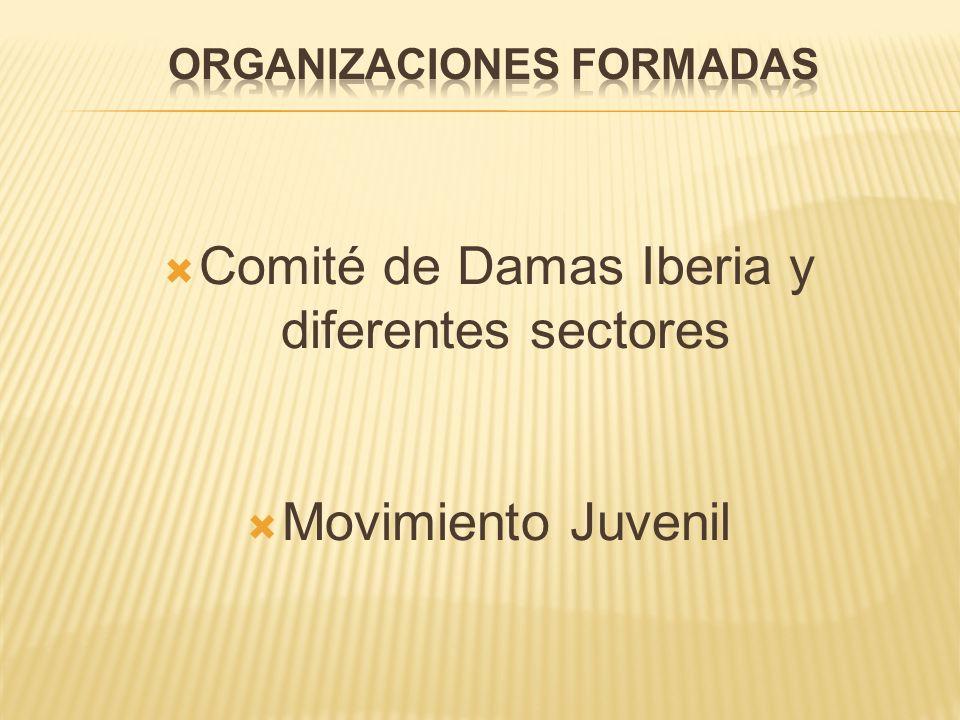 Comité de Damas Iberia y diferentes sectores Movimiento Juvenil
