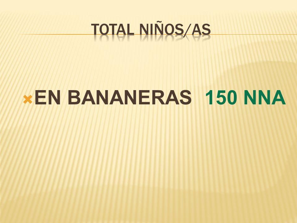 EN BANANERAS 150 NNA
