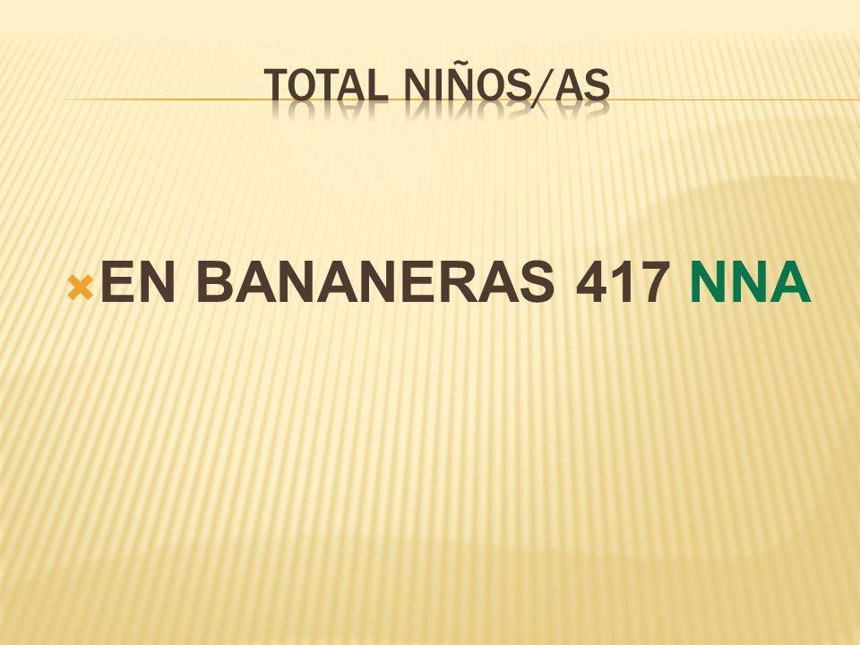 EN BANANERAS 417 NNA